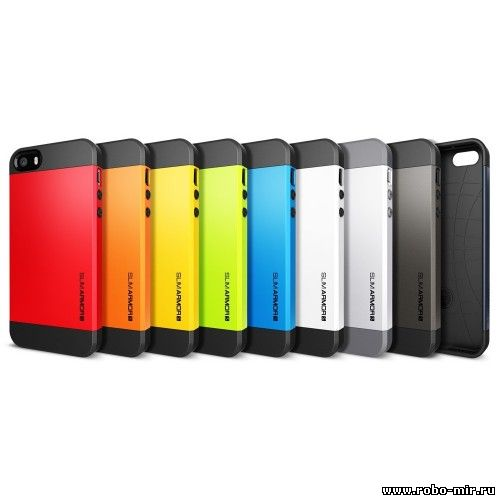 Чехол для iPhone 4,4S SLIM ARMOR SPIGEN SGP